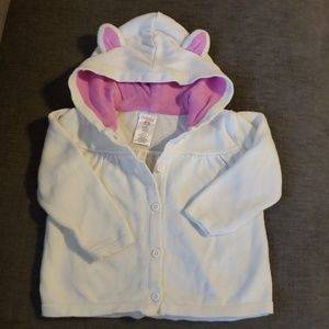 Gymboree Hooded Sweater with Adorable Ears